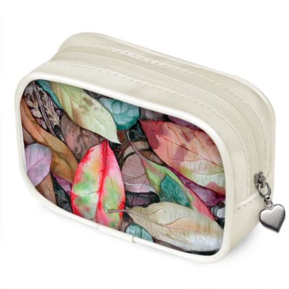 Autumn Leaves Pouch Purse