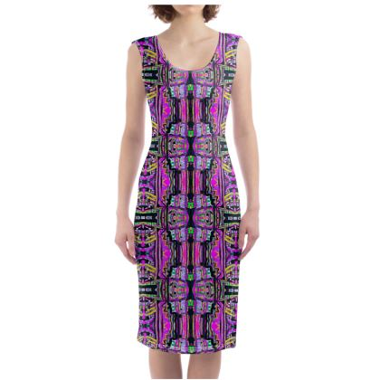 Funky Pop-Bodycon Dress III