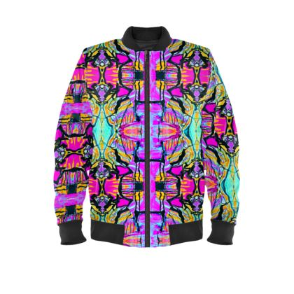 Funky Pop-Ladies Bomber Jacket III