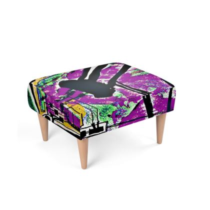Funky Pop-Footstool VI