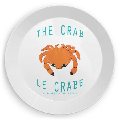 """Party Plate """"Le Crabe"""""""