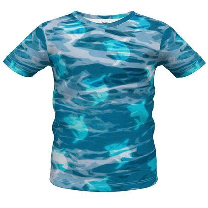 Boys Premium T-Shirt - Shark Ocean Abstract