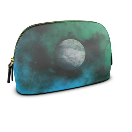 Large Premium Nappa Make Up Bag - Lonely Planet