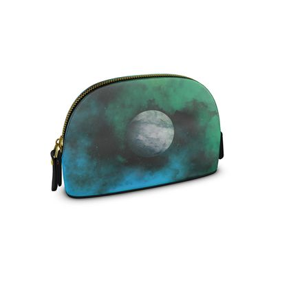 Small Premium Nappa Make Up Bag - Lonely Planet