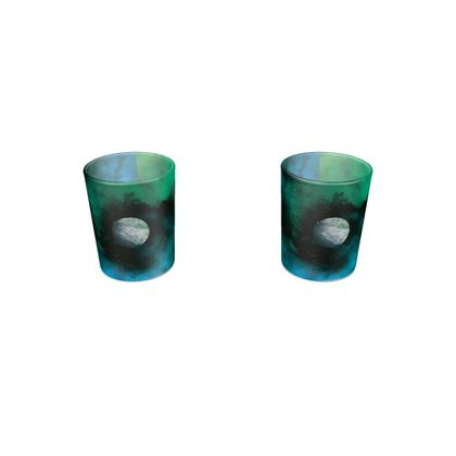 Round Shot Glass 2 Set - Lonely Planet