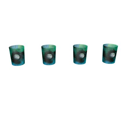 Round Shot Glass 4 Set - Lonely Planet