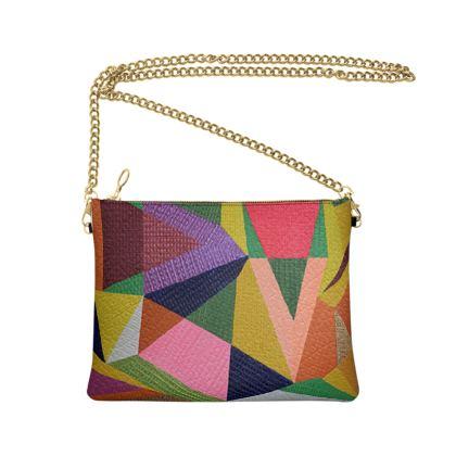 Crossbody bag-Art en folie