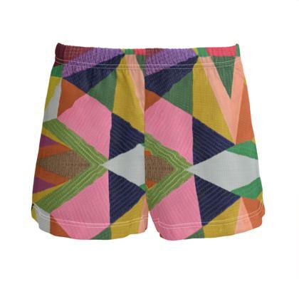 Ladies Silk Pyjama Shorts