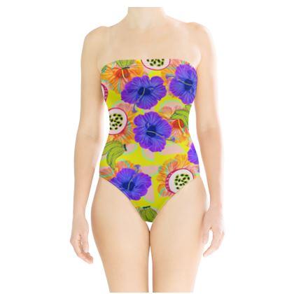 Hawaiian Summer Swimsuit