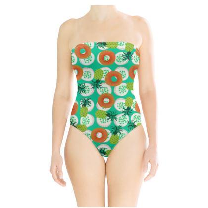 1980s Summer Swimsuit