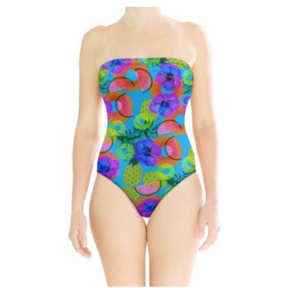 Neon Tropics Swimsuit