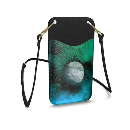 Leather Phone Case With Strap - Lonely Planet