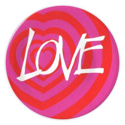 Lovehearts China Plate