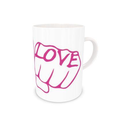 Love & Love Bone China Mug