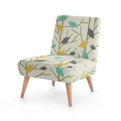 Birdsong Mid Century Modern Occasional Chair
