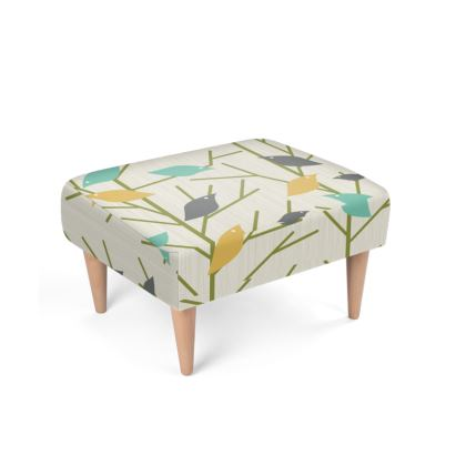 Birdsong Mid Century Modern Footstool