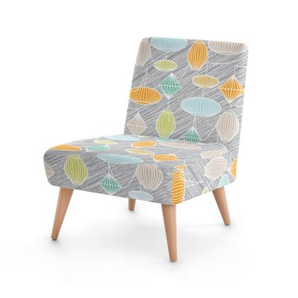Lampshades Mid Century Modern Occasional Chair