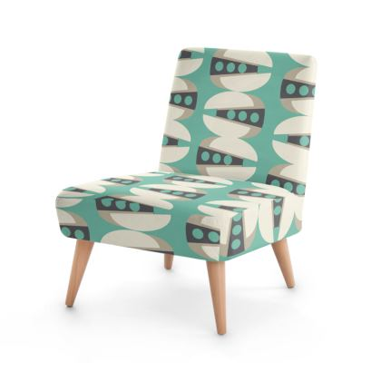 Tab Mid Century Modern Occasional Chair