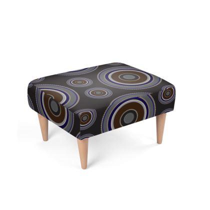 Orbit Deco Footstool