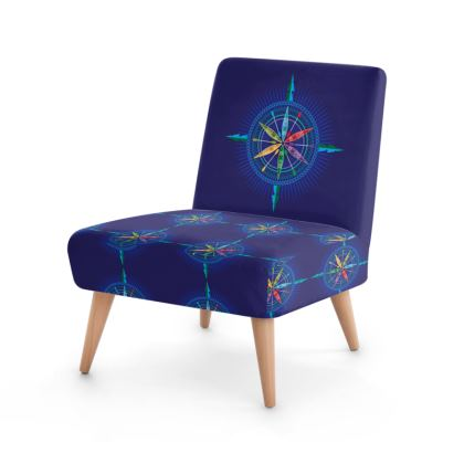 Kayak Compass Rose Occasional Chair