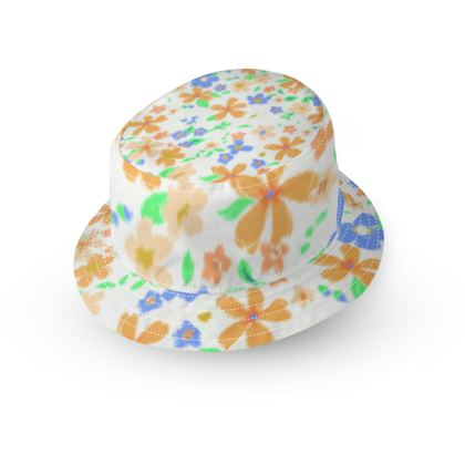 Summer Floral Bucket Hat
