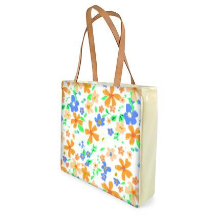 Summer Floral Beach Bag