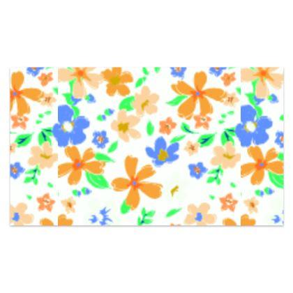 Summer Floral Silk Sarong
