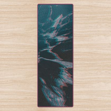 "Yoga Mat ""Marbled Ice"""