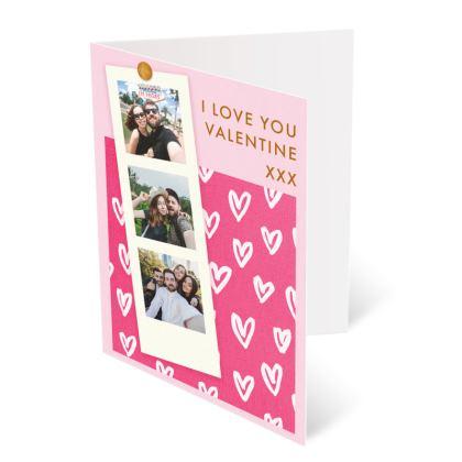 Film Strip Valentines Card