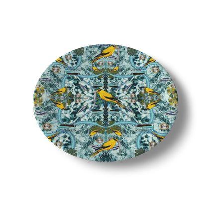 Teller, China plate 20 cm #ninibing34 DESIGN Porzellan Teller  20 cm