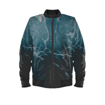 "Ladies Bomber Jacket ""marbled ice"""