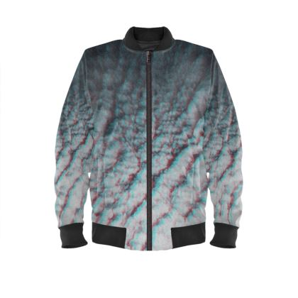 "Ladies Bomber Jacket ""Clouds in Aspic"""