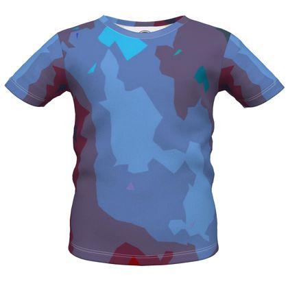 Boys Premium T-Shirt - Abstract Colours