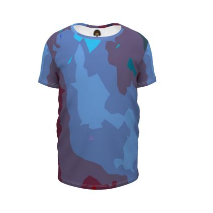 Girls Premium T-Shirt - Abstract Colours
