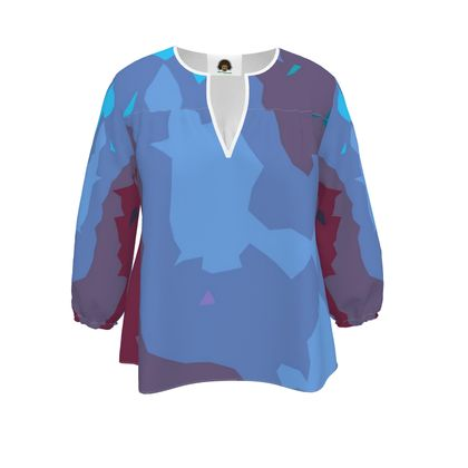 Blouse - Abstract Colours