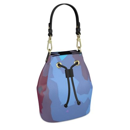 Bucket Bag - Abstract Colours