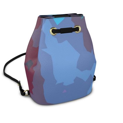 Bucket Backpack - Abstract Colours