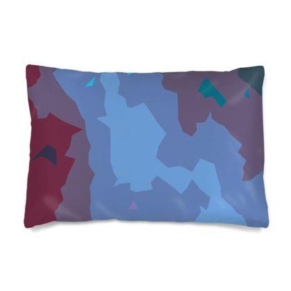 Silk Pillow Case - Abstract Colours