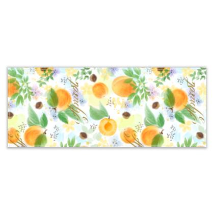 Little sun - Table Runner - fruit design, apricots, sunny, orchard, yellow, bright, natural food, garden, hand-drawn floral, summer gift - design by Tiana Lofd