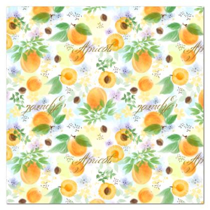 Little sun - Tablecloth - fruit design, apricots, sunny, orchard, yellow, natural food, garden, hand-drawn floral, summer gift - design by Tiana Lofd