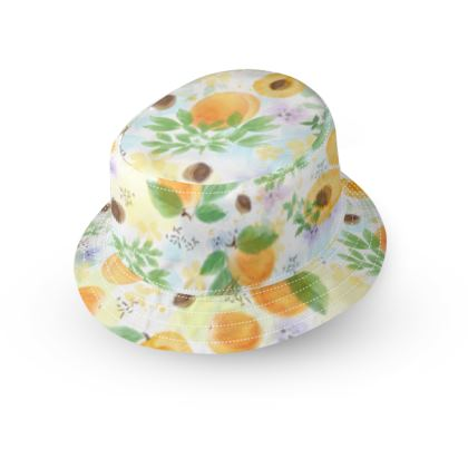 Little sun - 123456 - fruit design, apricots, sunny, orchard, yellow, bright, natural food, garden, hand-drawn floral, summer gift - design by Tiana Lofd