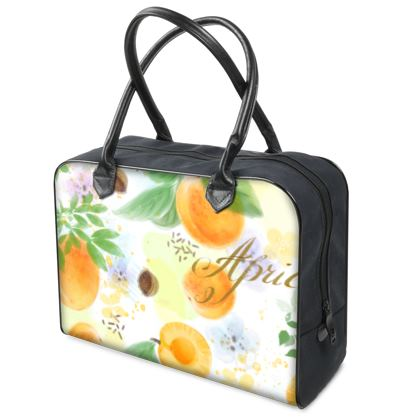 Little sun - Holdalls - fruit design, apricots, sunny, orchard, yellow, bright, natural food, garden, hand-drawn floral, summer gift - design by Tiana Lofd