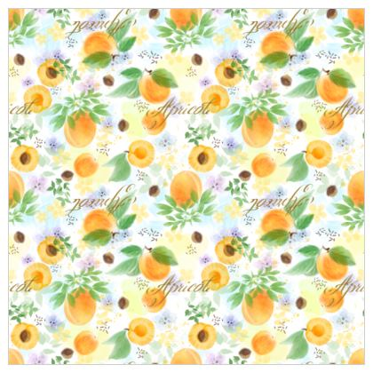 Little sun - Leather Printing- fruit design, apricots, sunny, orchard, yellow, natural food, garden, hand-drawn floral, summer gift - design by Tiana Lofd