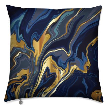 Indigo Ocean Cushion