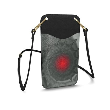 Leather Phone Case With Strap - Android Nucleus