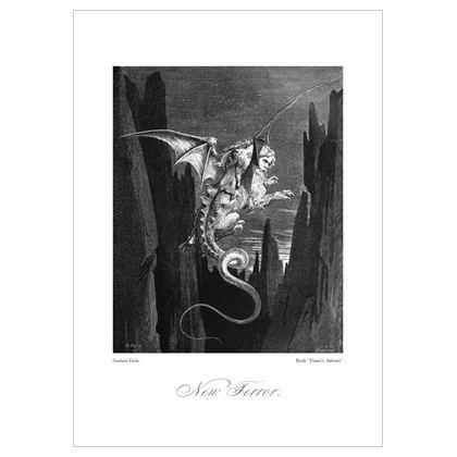 New Terror, Dante's Inferno Replica - A3 print