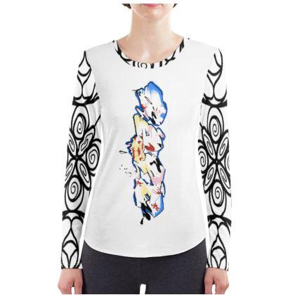 Mike A C.C Agro Design Ladies Long Sleeve Shirt