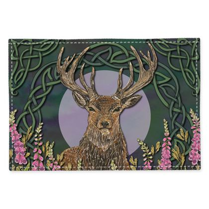 Celtic Stag Fabric Placemat