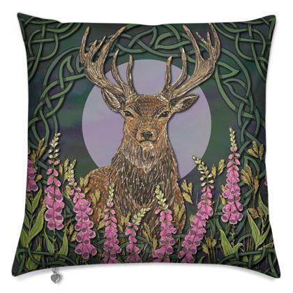 Celtic Stag Cushion