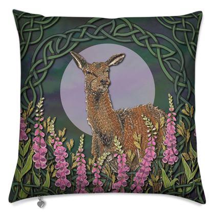 Celtic Doe Cushion